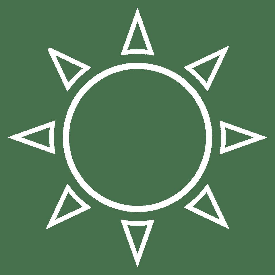 Tegning av sol